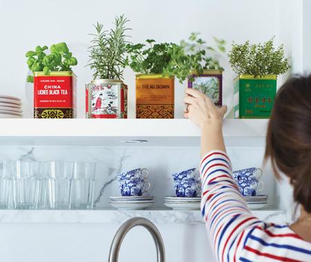 Πώς να διακοσμήσετε την κουζίνα σας με βότανα1