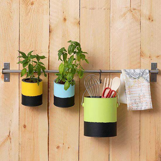 Πώς να διακοσμήσετε την κουζίνα σας με βότανα12