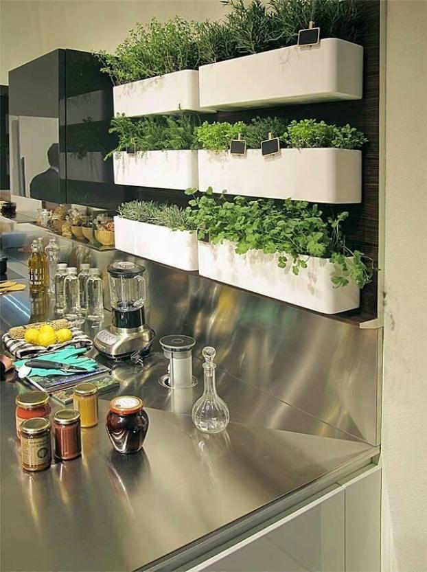 Πώς να διακοσμήσετε την κουζίνα σας με βότανα17