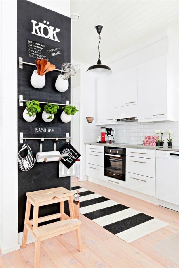 Πώς να διακοσμήσετε την κουζίνα σας με βότανα26