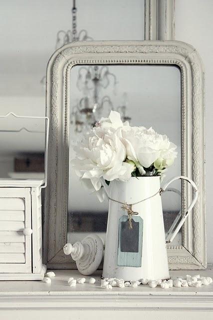 Diy Ιδέες Λευκής ρουστίκ διακόσμησης21