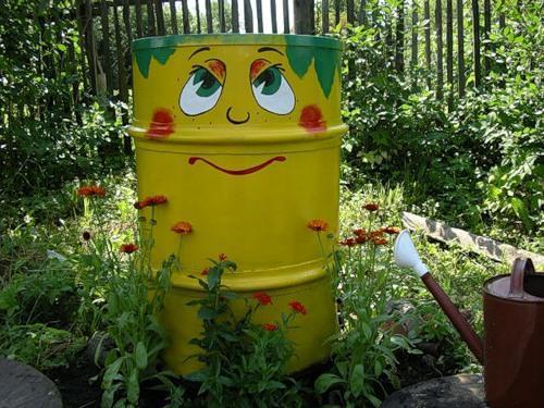 Πολύχρωμες Ιδέες ανακύκλωσης Μεταλλικών βαρελιών11