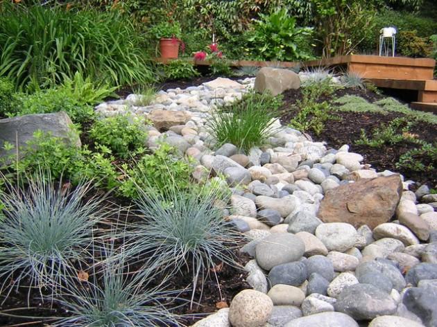 διακόσμηση κήπου με πέτρες1