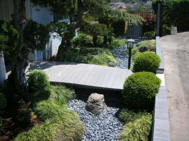 διακόσμηση κήπου με πέτρες7