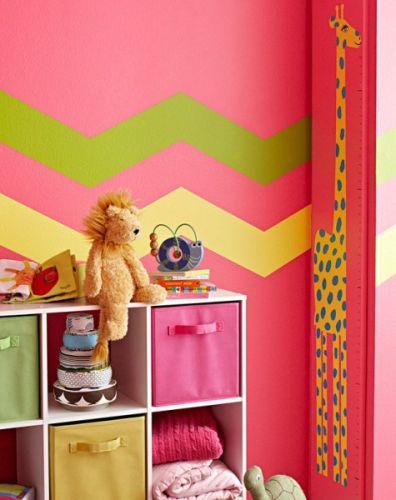 διακόσμηση τοίχου παιδικού δωματίου
