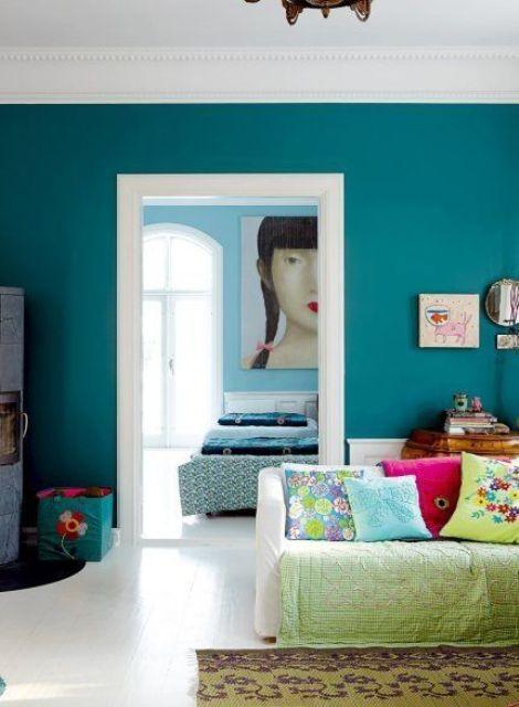 ιδέες με τυρκουάζ χρώμα2