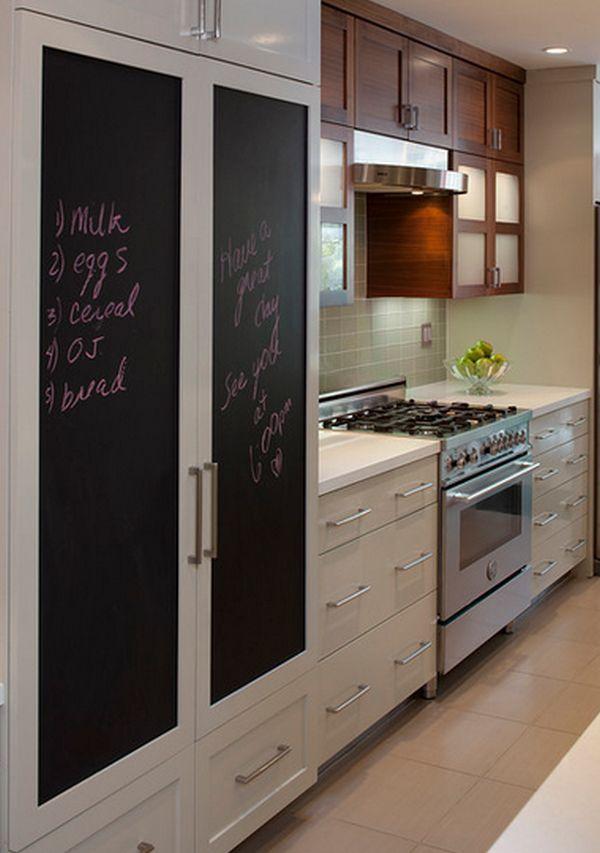 χρώμα μαυροπίνακα για διακόσμηση στο σπίτι22