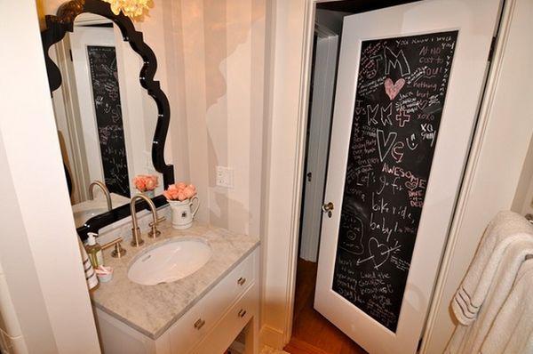 χρώμα μαυροπίνακα για διακόσμηση στο σπίτι34