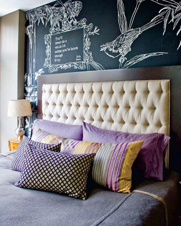χρώμα μαυροπίνακα για διακόσμηση στο σπίτι51