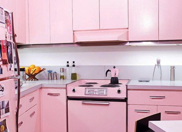 Ιδέες με Μοβ και ροζ χρώματα κουζίνας9