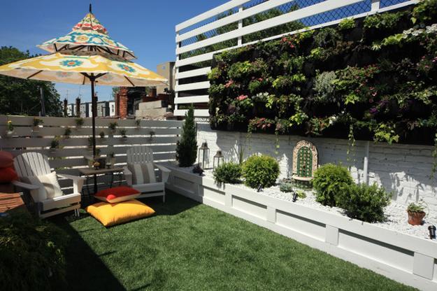 Πράσινες Ιδέες σχεδιασμού κήπου και αυλής5