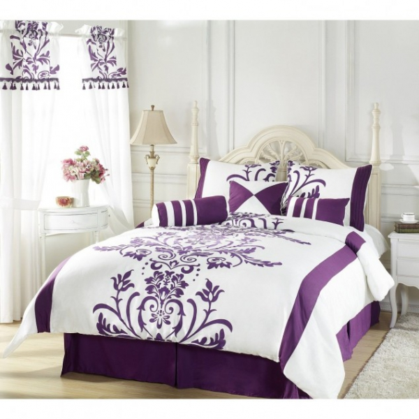 Τέλεια μωβ υπνοδωμάτια6