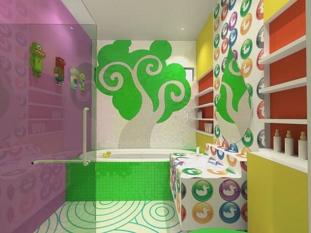 Υπέροχες Ιδέες διακόσμησης Μπάνιου για τα παιδιά σας7