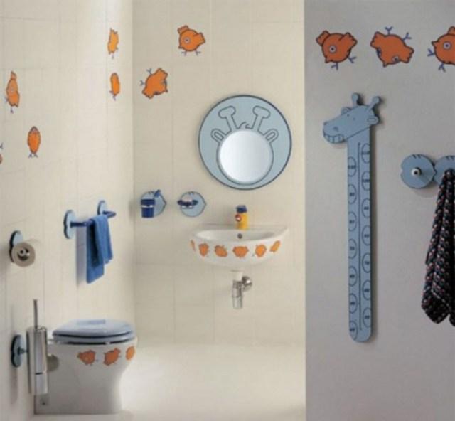 Υπέροχες Ιδέες διακόσμησης Μπάνιου για τα παιδιά σας9