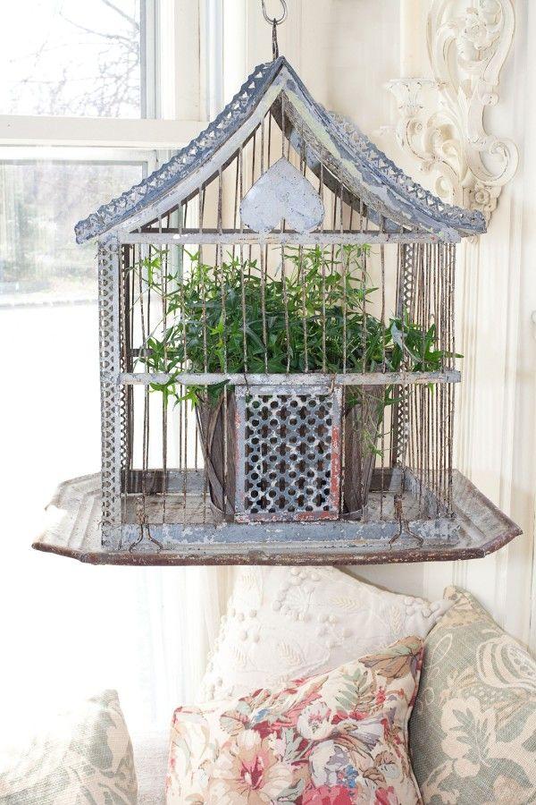 ιδέες διακόσμησης με κλουβιά