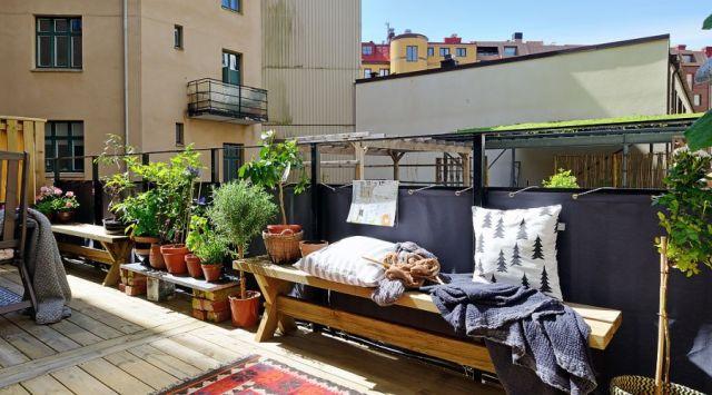 ιδέες διακόσμησης μπαλκονιού από τη Σκανδιναβία13