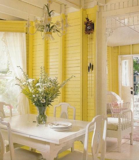 ιδέες με κίτρινο χρώμα7