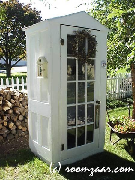 Ιδέες με ανακύκλωση παλιών ξύλινων πορτών και παραθύρων15