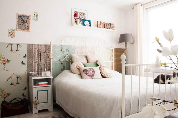δωμάτια που αποπνέουν μια θηλυκή αύρα10
