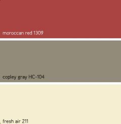 Benjamins Moore Κόκκινα χρώματα3