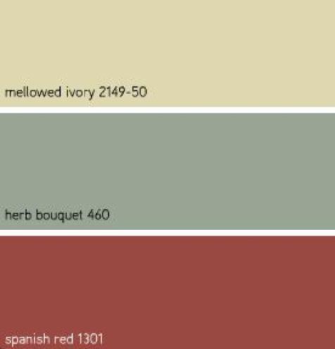Benjamins Moore Κόκκινα χρώματα4