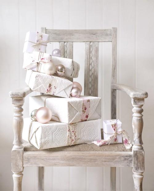 Ιδέες για Vintage λευκά  Χριστούγεννα1