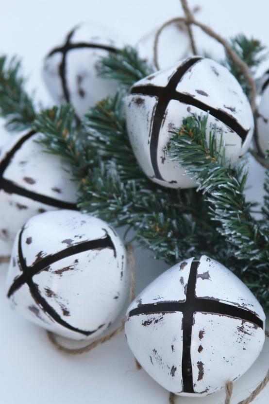 Ιδέες για Vintage λευκά  Χριστούγεννα17