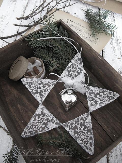 Ιδέες για Vintage λευκά  Χριστούγεννα19