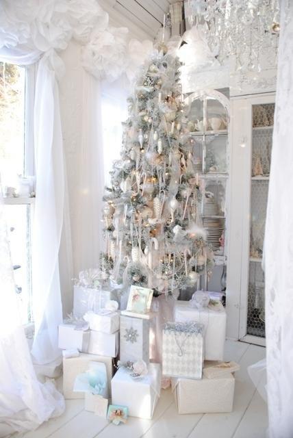 Ιδέες για Vintage λευκά  Χριστούγεννα26