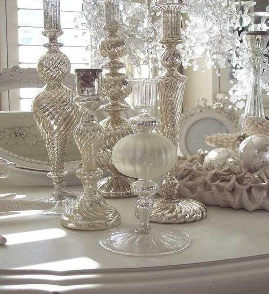 Ιδέες για Vintage λευκά  Χριστούγεννα43
