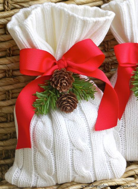Πλεκτά Χριστουγεννιάτικα διακοσμητικά14