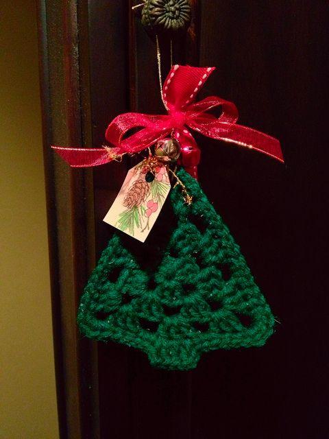 Πλεκτά Χριστουγεννιάτικα διακοσμητικά18