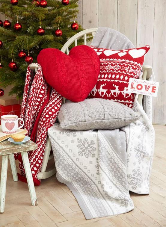 Πλεκτά Χριστουγεννιάτικα διακοσμητικά27