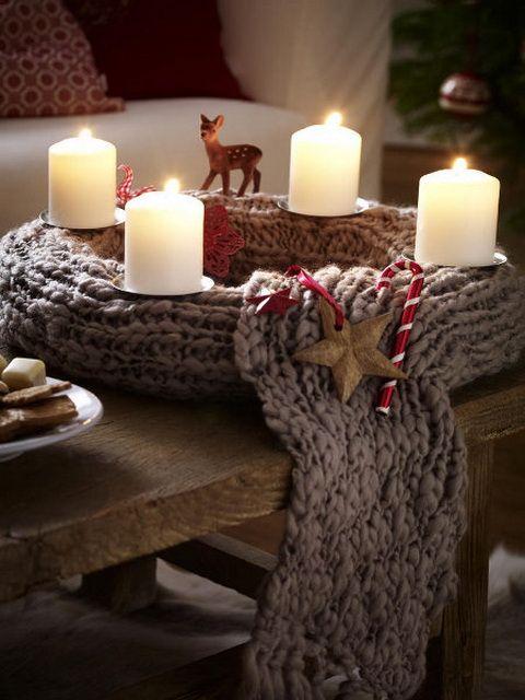 Πλεκτά Χριστουγεννιάτικα διακοσμητικά28