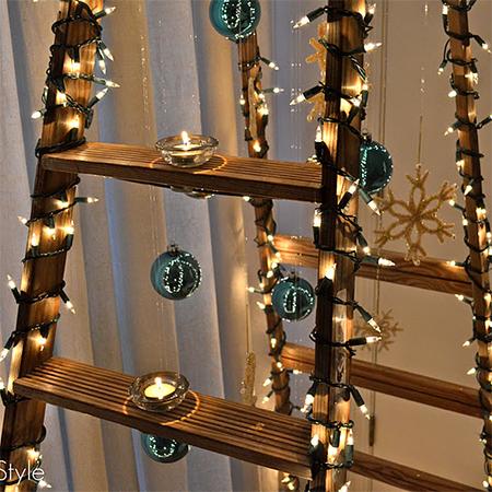 Πρωτότυπο χριστουγεννιάτικο δέντρο σκάλα3