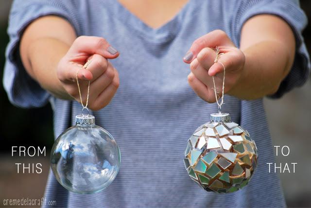 Χριστουγεννιάτικα στολίδια από σπασμένα ή παλιά CDs2