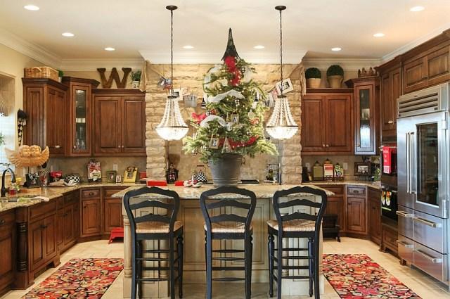 χριστουγεννιάτικη διακόσμηση κουζίνας9