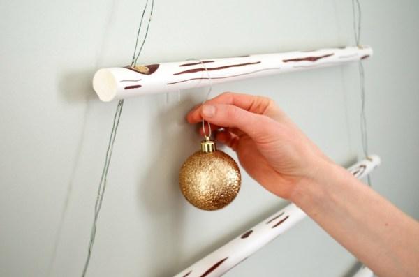 Diy Κρεμαστό Χριστουγεννιάτικο Δέντρο6