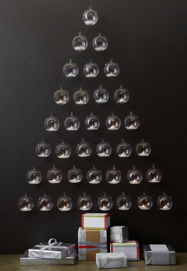 Diy χριστουγεννιάτικα δέντρα6