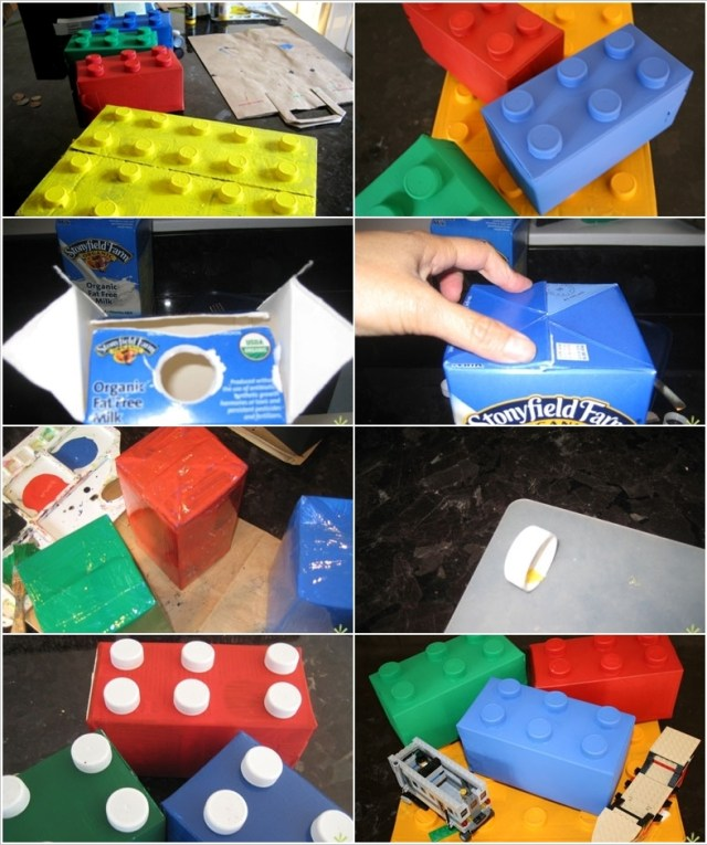 diy ιδέες με χάρτινα κουτιά γάλακτος6