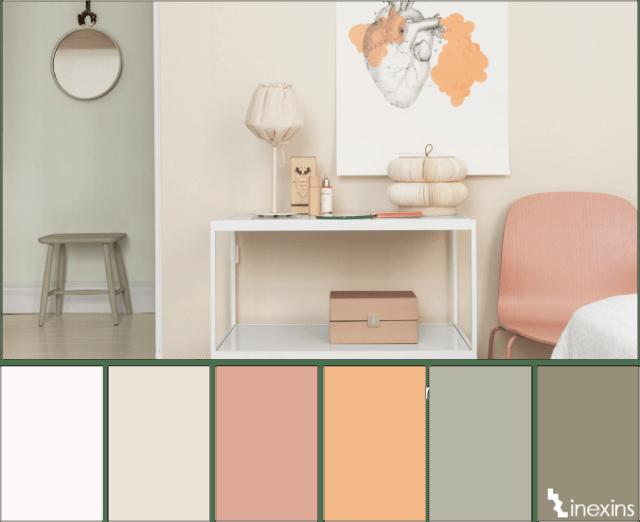 παλέτες χρωμάτων για δημιουργία χώρου χαλάρωσης1