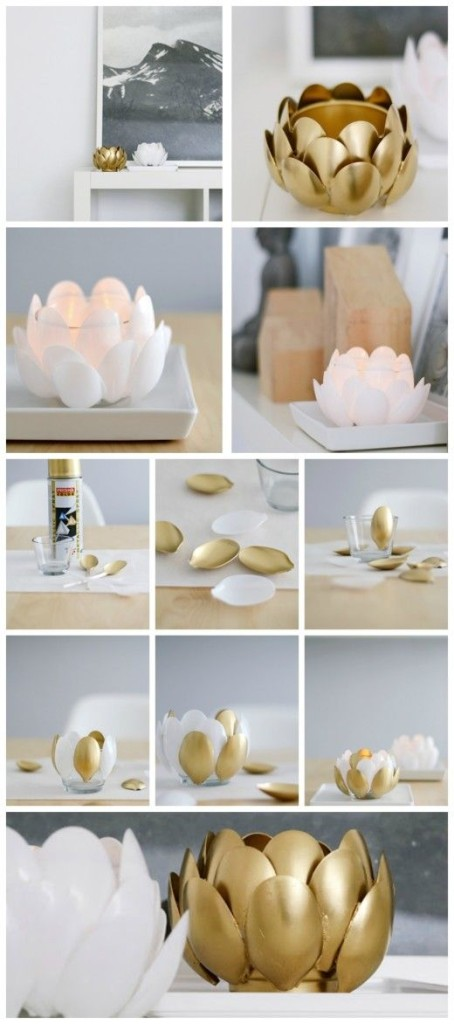 DIY έργα από πλαστικά κουτάλια2