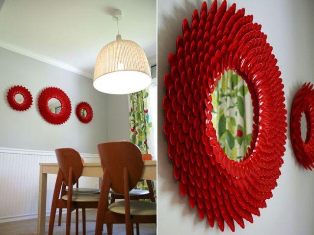 DIY έργα από πλαστικά κουτάλια6