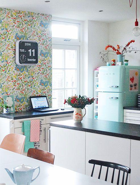 Ιδέες Διακόσμησης για την άνοιξη με λουλούδια στους τοίχους11