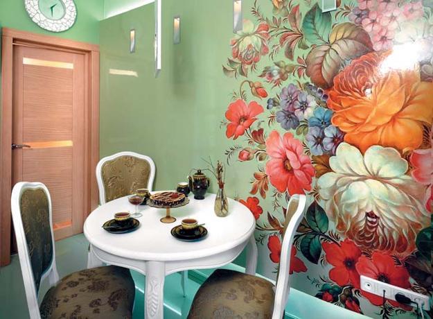 Ιδέες Διακόσμησης για την άνοιξη με λουλούδια στους τοίχους12