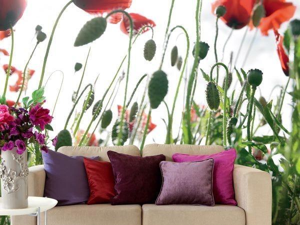 Ιδέες Διακόσμησης για την άνοιξη με λουλούδια στους τοίχους16