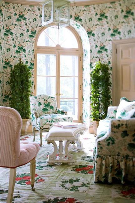Ιδέες Διακόσμησης για την άνοιξη με λουλούδια στους τοίχους22