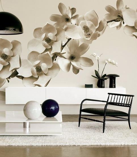 Ιδέες Διακόσμησης για την άνοιξη με λουλούδια στους τοίχους8