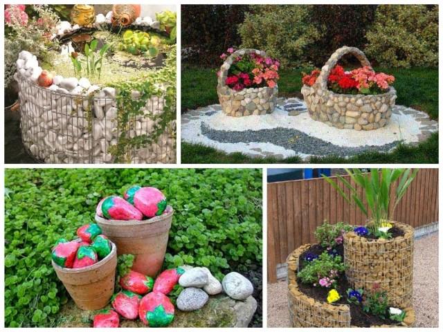 Ιδέες Διακόσμησης κήπου με βράχια και πέτρες