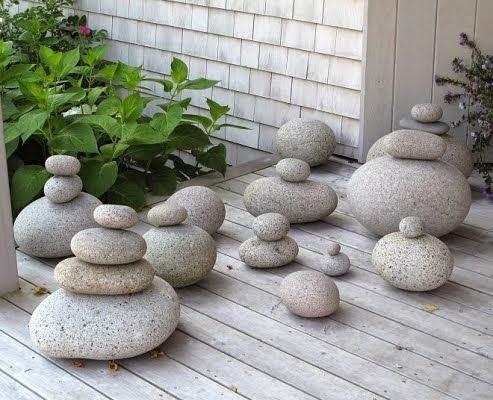 Ιδέες Διακόσμησης κήπου με βράχια και πέτρες12